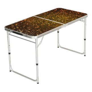 Glitter-Diamant Beer Pong Tisch