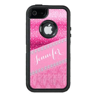 Glitter Diamant DruckOtterbox Telefon-Kasten OtterBox iPhone 5/5s/SE Hülle