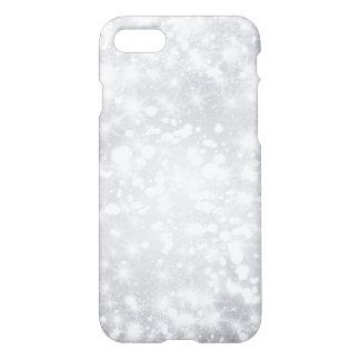 Glitter-funkelnd graues Silber iPhone 8/7 Hülle