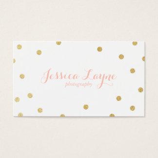 Glitter-Geschäfts-Karten Visitenkarten