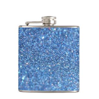 Glitter-glänzender Luxus Flachmann