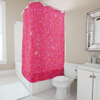 Glitter-glänzender Schein Duschvorhang