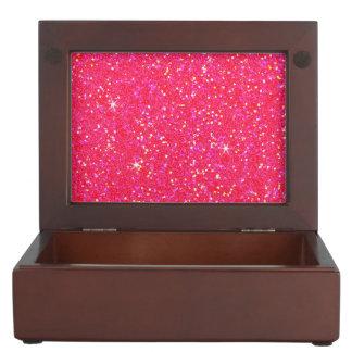 Glitter-glänzender Schein Erinnerungsdose