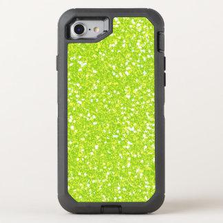 Glitter-glänzender Schein OtterBox Defender iPhone 8/7 Hülle