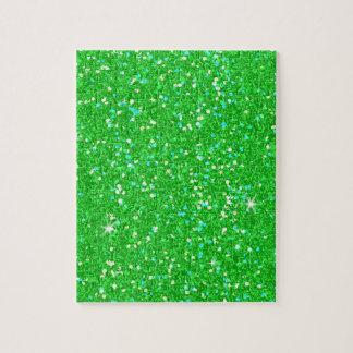 Glitter-glänzender Schein Puzzle