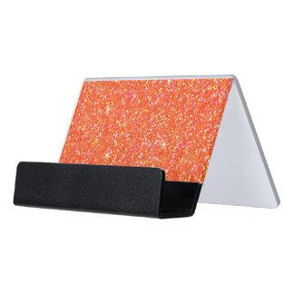 Glitter-glänzender Schein Schreibtisch-Visitenkartenhalter