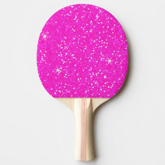 Glitter-glänzender Schein Tischtennis Schläger
