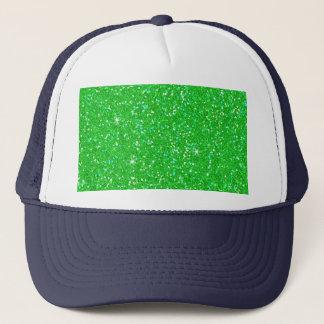 Glitter-glänzender Schein Truckerkappe