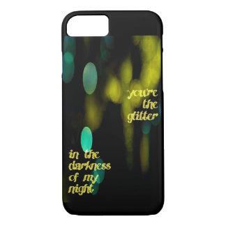 Glitter im Dunkelheit iPhone Fall iPhone 8/7 Hülle