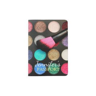 Glitter-Make-up Passhülle