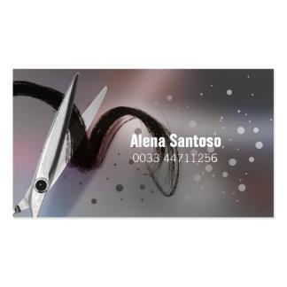 Glitter-Make-upkünstler Visitenkartenvorlage