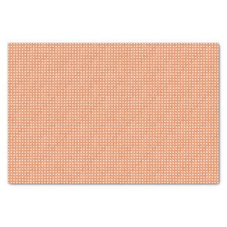 Glitter-Pfirsich-Polka-Punkte Seidenpapier