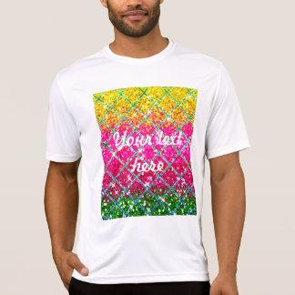 Glitter rosa Snakeskin T-Shirt