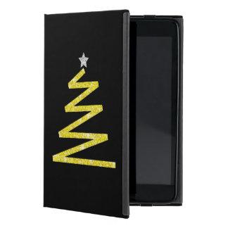 Glitter-Weihnachtsbaum iPad Mini Hülle