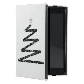 Glitter-Weihnachtsbaum iPad Mini Schutzhüllen