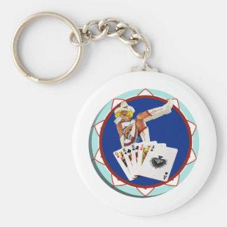 GlitterGulchsally-Poker-Chip Schlüsselanhänger