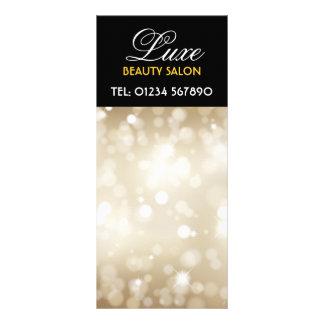 Glittery Goldentwurfs-Gestell-Karte Vollfarbige Werbekarte