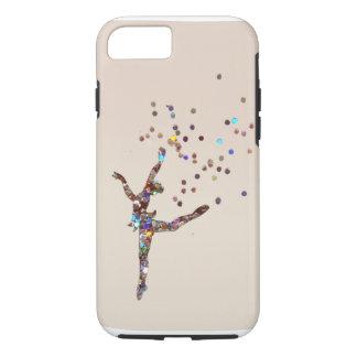 Glittery Tänzer iPhone 8/7 Hülle