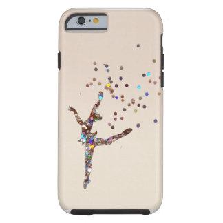 Glittery Tänzer Tough iPhone 6 Hülle