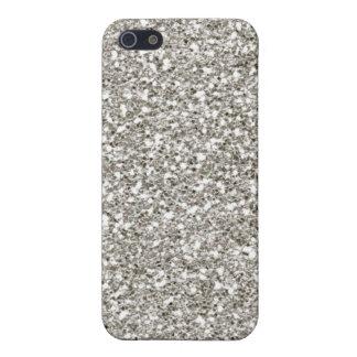 Glitzer Chanukka des Silber-4 iPhone 5 Hüllen