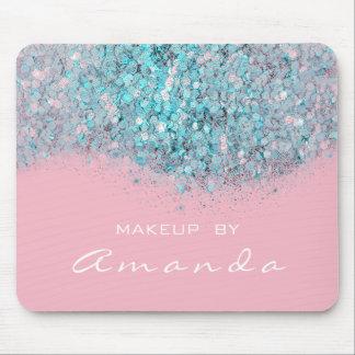 Glitzer-einbrennendes Schönheits-Studio-Make-up Mousepad