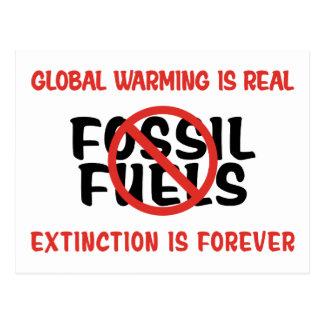 Globale Erwärmung ist wirklich Postkarte