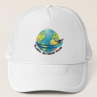 Globale extreme Film-Kappe (Logo + Farbe) Truckerkappe