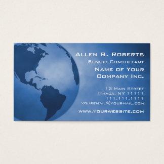 Globale Handels-Amerika-Niederlassung Unternehmens Visitenkarte