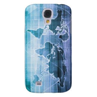 Globale Technologie-Lösungen auf dem Internet Galaxy S4 Hülle