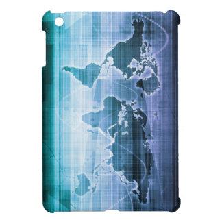 Globale Technologie-Lösungen auf dem Internet iPad Mini Hülle