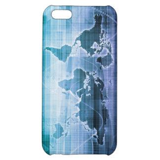 Globale Technologie-Lösungen auf dem Internet iPhone 5C Hülle
