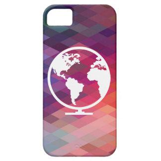 Globale Wort-Ikone iPhone 5 Schutzhülle