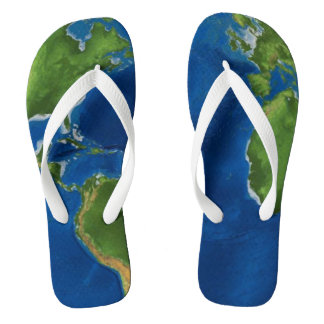 Globaler Reinfall Flip Flops