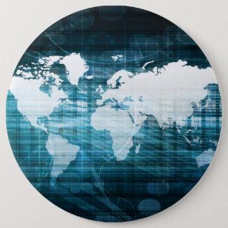 Globales Geschäft und Erfolg in der Runder Button 15,3 Cm