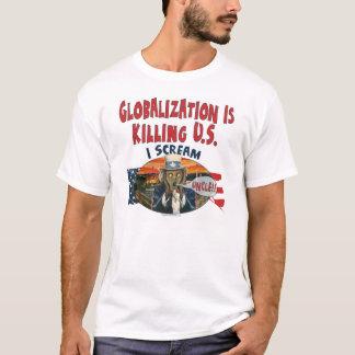 Globalisierung tötet US T-Shirt
