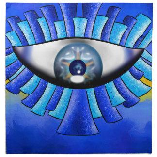 Globellinossa V1 - dreifache Augen Serviette