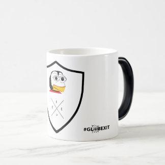 #GLOBEXIT #FEPE ABZEICHEN Kaffee TASSE