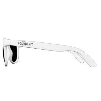 #GLOBEXIT Sun-Gläser (weiß) Brille