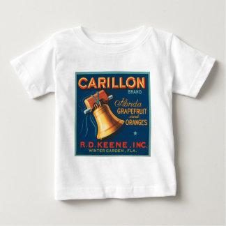 Glockenspiel-Floridapampelmuse und -orangen Baby T-shirt