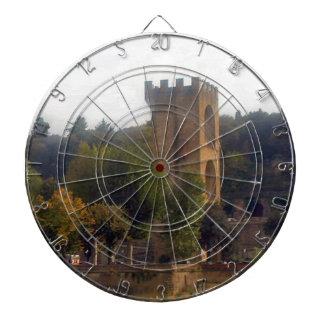 Glockenturm in Florenz Dartscheibe