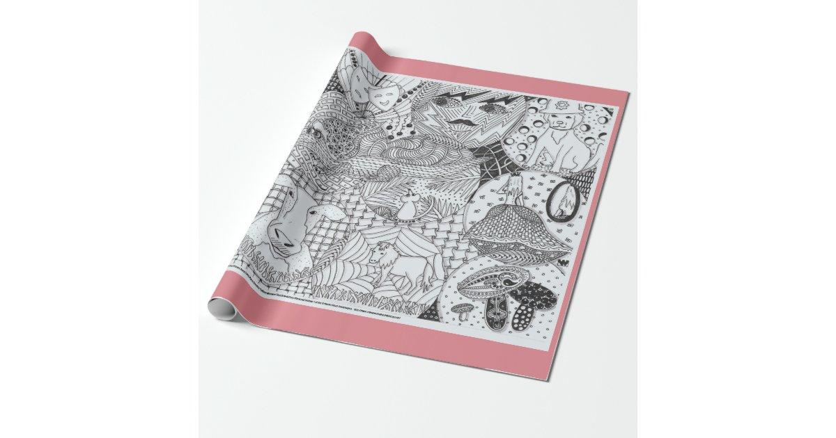 glodwyns schatztruhe packpapier geschenkpapier. Black Bedroom Furniture Sets. Home Design Ideas