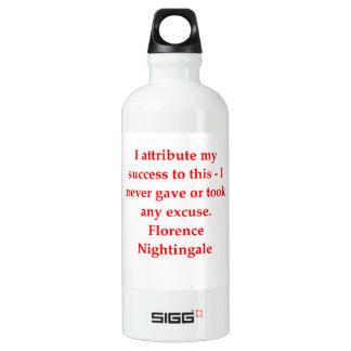 glorence nighitngale aluminiumwasserflasche