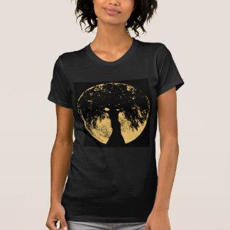 Glowees Mond-Eichen-Göttin T-Shirt