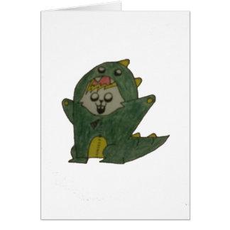 Glowie Dino Karte