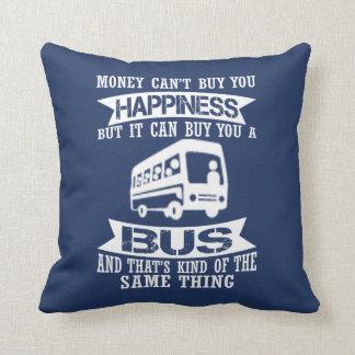 Glück-aufgeteilter Bus Kissen