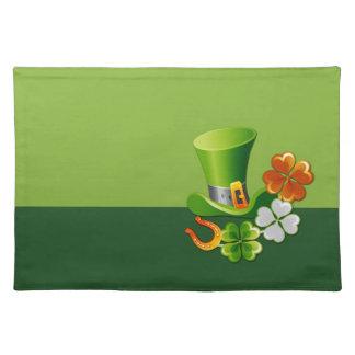 Glück der Iren. St Patrick ´s Stofftischset