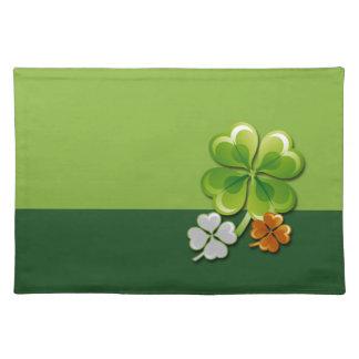 Glück der Iren. St Patrick ´s Tischset