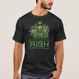 Glück der irischen Kobolde St. Patricks Tages T-Shirt
