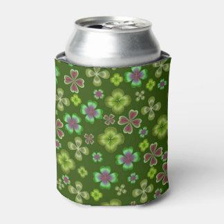 Glück des irischen Klee-Kleeblatts kann cooler Dosenkühler