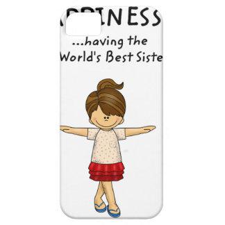 Glück… hat die beste Schwester. .pn der Welt iPhone 5 Hülle